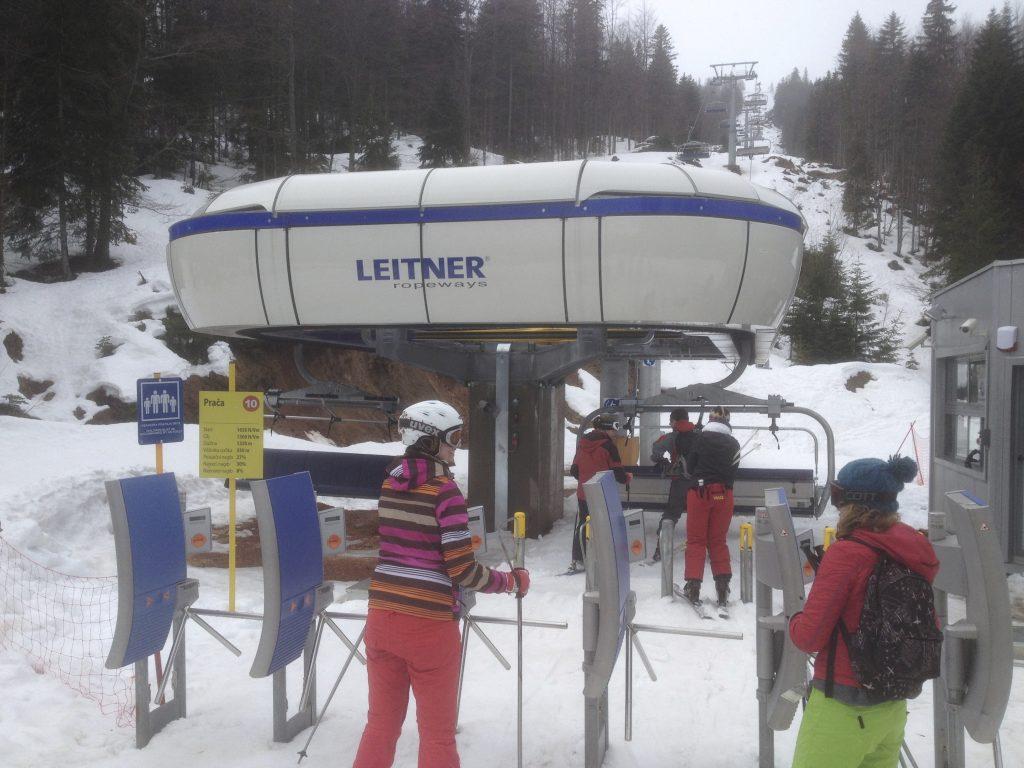 Chair Lifts Bosnia Crazy Snow Camp 2013 04