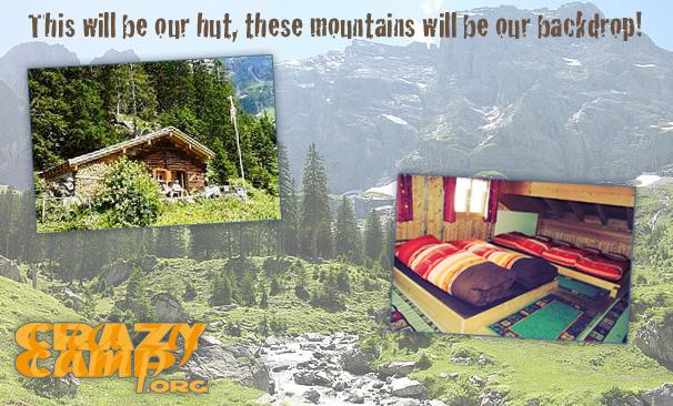 Crazy Mountain Camp Location