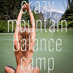 July 9 till 15, 2017: The Crazy Mountain Balance Camp in an amazing remote valley high in the mountains in Switzerland. Mountain hiking, Yoga and meditations, crazy group games, hot tub, swimming in wild mountain lakes – this adventure will bring you back in balance!